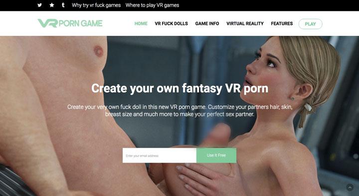 VRFuckDolls Sex Game main page
